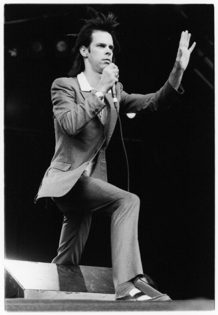 Nick Cave, the Big Day Out, 1996