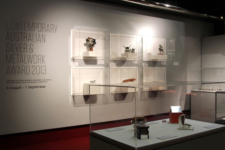 The Contemporary Silver and Metalwork Award 2013, at Arts Centre Melbourne