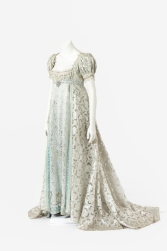 Costume worn by Suzanne Steele as Countess Helene Bezukhova in War and Peace, The Australian Opera, 1973. Designed Tom Lingwood. Realised by The Australian Opera Wardrobe Department. The Estate of Suzanne Steele, gift of Pat Oswald and Margaret Toyne, 1987. Arts Centre Melbourne, Performing Arts Collection. Photograph by Jeremy Dillon.