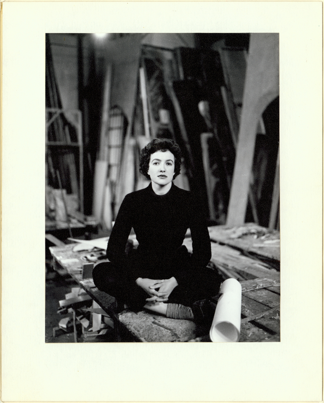 Helmut Newton, Portrait of Anne Fraser, c. 1950 Gift of Anne Fraser, 1996 Performing Arts Collection, Arts Centre Melbourne