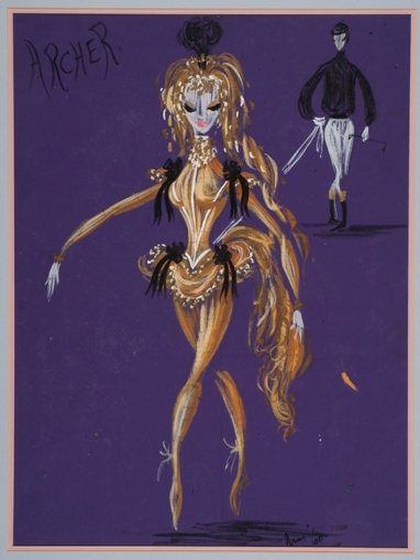 Costume design for Rex Reid's Melbourne Cup, The Australian Ballet, 1962 Gift of The Australian Ballet Gift of The Australian Ballet, 1998 Arts Centre Melbourne, Performing Arts Collection