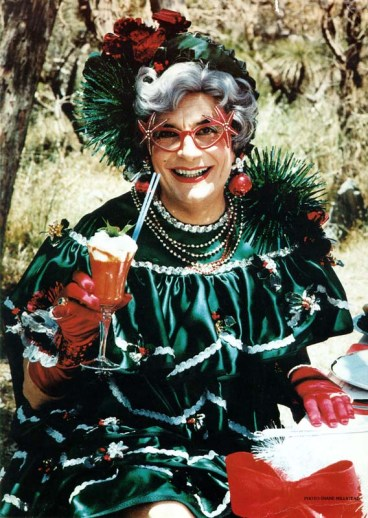 Dame Edna, 1981. [1981.202.869] Barry Humphries Collection, Arts Centre Melbourne, Performing Arts Collection.