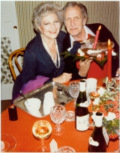 Coral Browne and Vincent Price at Christmas, c.1970s. [1994.095.1360] Performing Arts Collection, Arts Centre Melbourne.