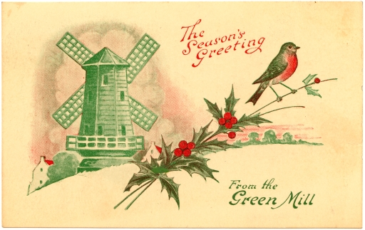 Postcard from the Green Mill, c.1920s. [1999.097.002] Performing Arts Collection, Arts Centre Melbourne.
