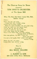Postcard (reverse side) from the Green Mill, c.1920s. [1999.097.002] Performing Arts Collection, Arts Centre Melbourne.