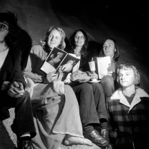 """""""Carols by Candlelight"""", c.1973. [IRN 108389] Laurie Richards Collection. Performing Arts Collection, Arts Centre Melbourne."""