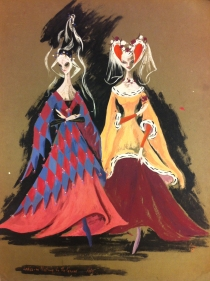 Costume design by Ann Church for Swan Lake (1951), National Theatre Ballet Gift of the Estate of Ann Church, 2017 Arts Centre Melbourne, Performing Arts Collection. Reproduced courtesy of Mrs Collins.