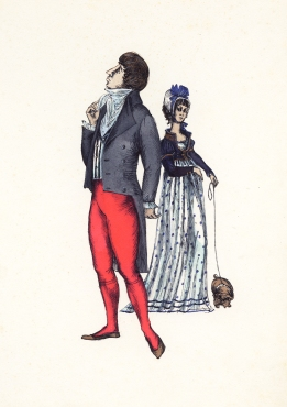 Costume design by Hermia Boyd for Lola Montez, 1958 Gift of Cassandra and Lucinda Boyd, 2017 Arts Centre Melbourne, Australian Performing Arts Collection. Reproduced courtesy of Lucinda and Cassandra Boyd.